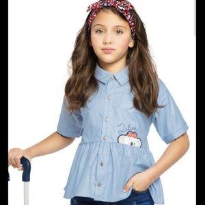 Lilica Ripilica Girl's Shirt - size 6